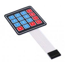 4x4 MATRIX thin-film keypad